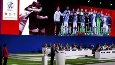 Canadá, México y EE.UU. serán las sedes del Mundial de fútbol 2026.