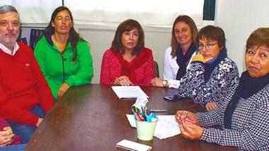 Mesa conjunta. Autoconvocados informaron sobre las medidas tomadas para que se abran las paritarias.