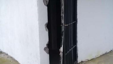 Un hecho vandálico que fue denunciado por el municipio local.
