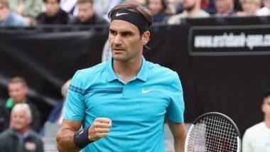 Federer superó los 1.150 triunfos en su carrera, récordman de títulos en césped.