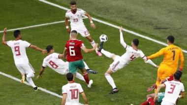 Iran festejó como si hubiesen pasado a octavos y Marruecos quedó como si hubieran perdido la final.