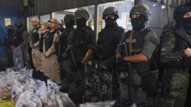 Uno de los secuestros de droga efectuados en el primer trimestre del año, según el gobierno.