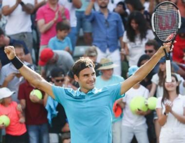El tenista suiz Roger Federer, continúa cosechando títulos.