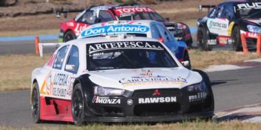 El chubutense Lucas Valle finalizó ayer en la cuarta posición del Top Race en el autódromo de Alta Gracia.