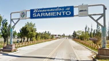 Bienvenidos. La entrada a la localidad sureña, donde Gendarmería detectó un enclave de abusos y explotación sexual.
