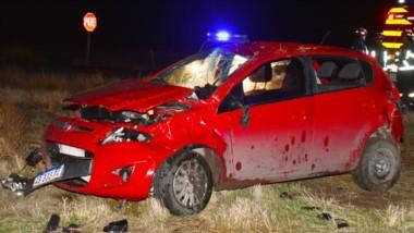 El vehículo Fiat palio tuvo daños materiales de consideración en el accidente vial que protagonizó ayer.