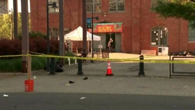 Un muerto y veinte heridos es el saldo de un tiroteo en un festival de arte en Trenton.