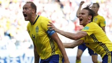 Suecia dejó en el camino a Corea del Sur y lidera grupo con México.