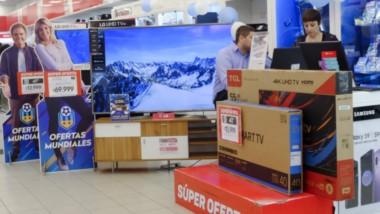 La venta de televisores subió 106% en el primer bimestre del año impulsada por el Mundial de Rusia 2018.