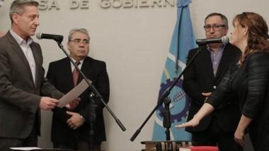 Juramento. Lucrecia Pourte asumió como nueva secretaria de Coordinación de Gabinete.