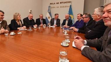 Transparentar. A pedido de los diputados de la oposición, se dio el encuentro con el gobernador, la principal autoridad del Banco del Chubut y el equipo económico.