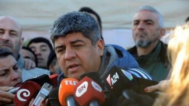 """Pablo Moyano: """"Si no tenemos respuesta, paramos el 25, 26 y 27""""."""