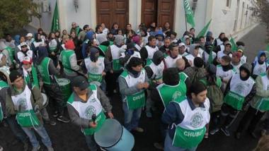 Durante la mañana hubo algunos incidentes y el sector de Quiroga no pudo ingresar a la paritaria.