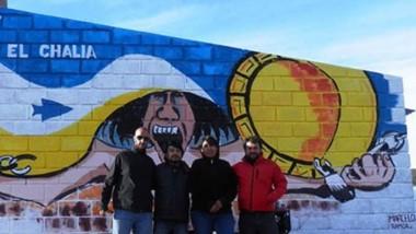 Logro ancestral. Integrantes de distintos organismos en el Lof El Chalía, donde se realizará la restitución.