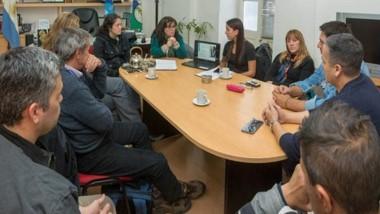 Coordinación. El encuentro en el municipio capitalino donde se decidió la forma del operativo.