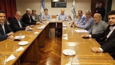 El encuentro de los ministros de la Producción de la Patagonia con las autoridades del SENASA.