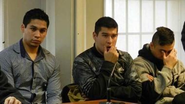 Estos son los imputados en el hecho y se encuentran en prisión preventiva por orden de la Justicia Penal.
