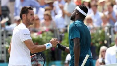 Leo Mayer, que venía de derrotar a Kevin Anderson, cayó en la segunda ronda del ATP 500 de Queens.
