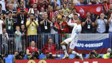 Con un golazo de cabeza de Cristiano Ronaldo, derrotó 1-0 a Marruecos y alcanzó los 4 puntos en el Grupo B.