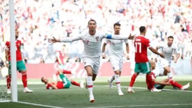 CR7 le marcó tres goles a España y uno a Marruecos. Hoy quiere seguir de racha ante Irán.