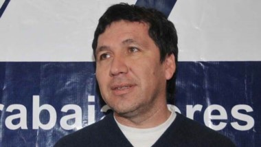 Dirigente de la Asociación Trabajadores del Estado, Edgardo Hompanera.
