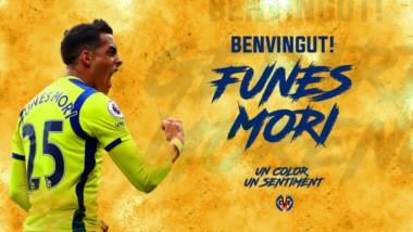 Ramiro Funes Mori dejó el Everton y se va a jugar a España: firmó por 4 años con el Villarreal.