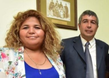 Leticia Huichaqueo y Marcelo Suárez