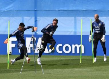 Franco Armani será titular con Argentina en el último partido por la fase de grupos del Mundial.