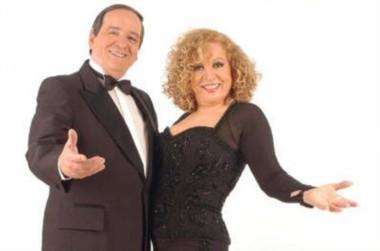 Violeta Rivas y Néstor Fabián mostraron un matrimonio de roble en el ámbito del espectáculo.