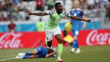 Nigeria gana a Islandia con un doblete de Musa y le da vida a Argentina para el último partido.