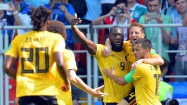 Bélgica anotó sus dos primeros goles en los primeros 15 minutos de juego.