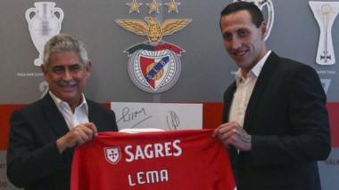Cristian Lema ya es refuerzo de Benfica. Firmó contrato hasta el 30 de junio de 2023.