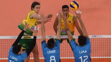 El combinado nacional derrotó 3 a 1 a Australia de la Nations League. Agustín Loser anotó 13 puntos