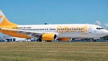 Flybondi opera con aviones Boeing 737-800 con capacidad para 189 pasajeros, todos en clase turista.