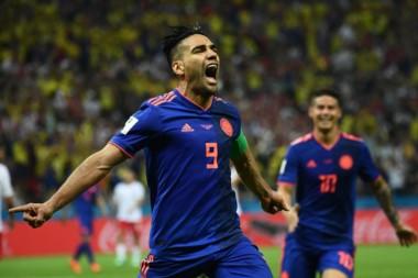 """El """"Tigre"""" Falcao llega de marcar su primer gol en un Mundial y quiere repetir ante Senegal."""