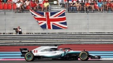 Hamilton ganó en Francia, es nuevo líder del campeonato y batió una marca de Schumacher .