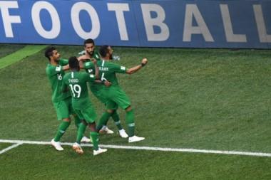 En un partido con el honor en juego, la insistencia y ambición de Arabia Saudita tuvo su premio.