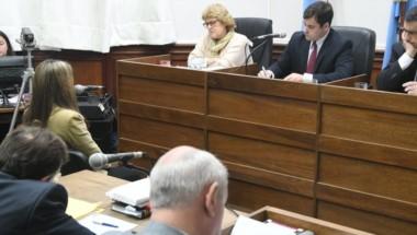 La joven brindó su testimonio en el juicio por el crimen de Fernando Pastorizzo y habló del vínculo entre ambos. (José Almeida)