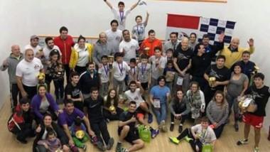 Jugadores de Trelew y Puerto Madryn participaron del segundo certamen de la Asociación Squash Chubut.