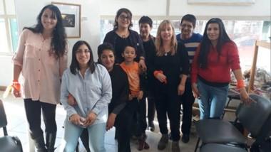 Mujeres de Esquel activas participantes del evento que fue declarado de interés municipal.