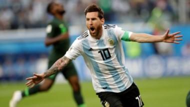 """Messi """"Estoy muy feliz, no merecíamos sufrir tanto""""."""