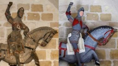 El San Jorge medieval, antes y ahora.