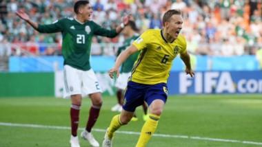 Suecia le metió tres a México en Ekaterimburgo y ni se acuerda de Ibrahimovic.