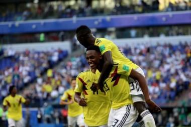 Con un gol de Yerry Mina, Colombia venció 1-0 a Senegal y avanzó como primero del Grupo H.