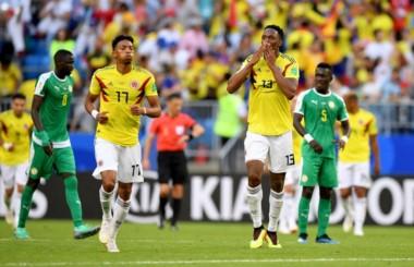 El héroe de Colombia terminó siendo el zaguero del Barcelona, Yerri Mina.