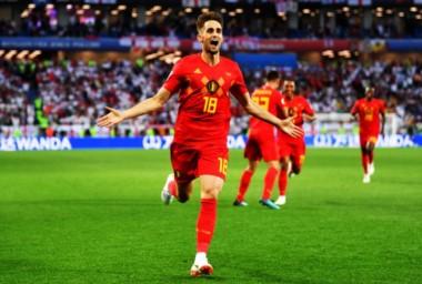 Januzaj marcó el tanto de la victoria de Bélgica ante Inglaterra.