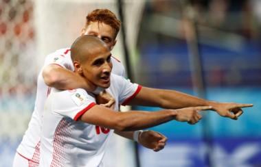 Túnez derrotó 2 a 1 a Panamá en un partido donde estaba en juego el honor, ya que ambos estaban eliminados.