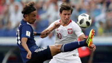 Japón perdió con Polonia pero clasificó por tener menos amarillas que Senegal.