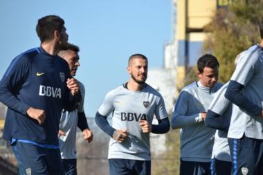 Sonríen los hinchas de Boca con el regreso del goleador.