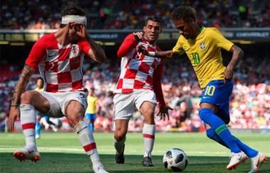 Con goles de Neymar y Firmino, la selección de Brasil derrotó 2-0 a Croacia en un amistoso en Anfield.